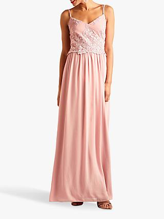 Yumi Embroidered Maxi Dress