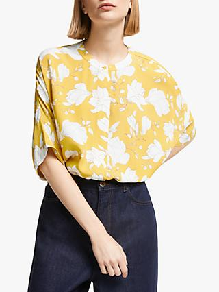 Kin Hatari Floral Shirt, Yellow