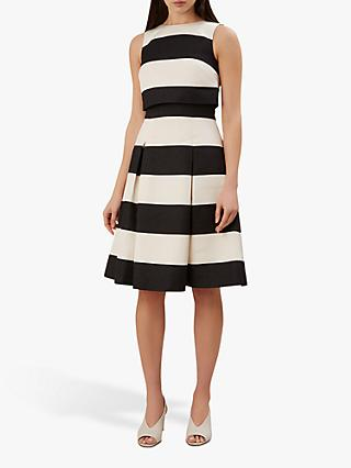 Hobbs Emma Dress, Black/Ivory