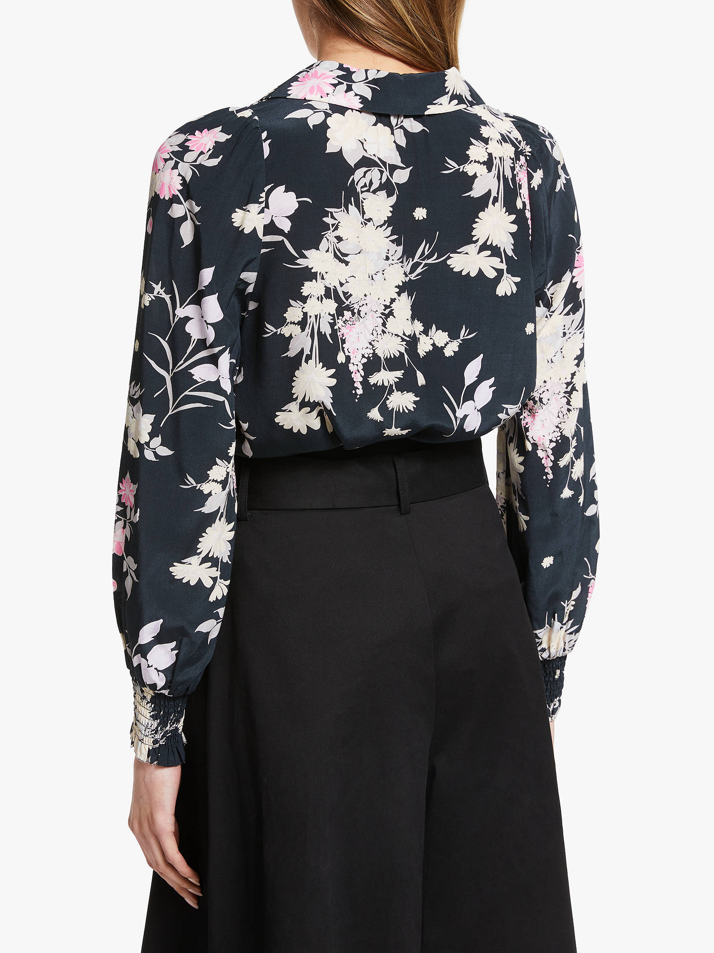 Buy Somerset by Alice Temperley Garden Floral Blouse, Multi, 10 Online at johnlewis.com