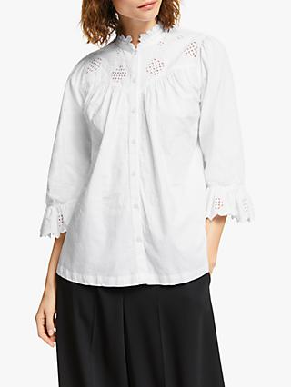 Somerset by Alice Temperley Broderie Detail Blouse, White