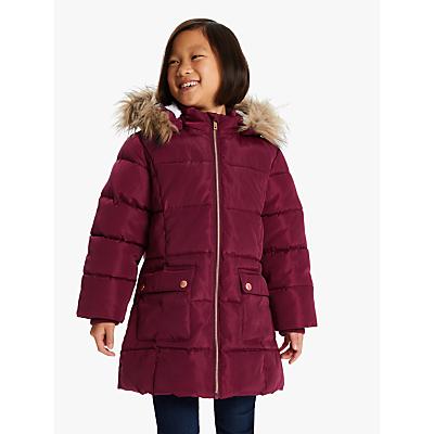 John Lewis & Partners Girls' Padded Coat