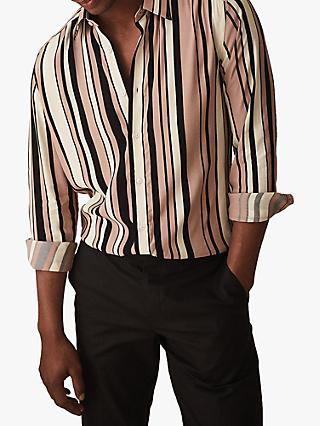 4d04dae5edf4 Reiss Deck Striped Slim Fit Shirt