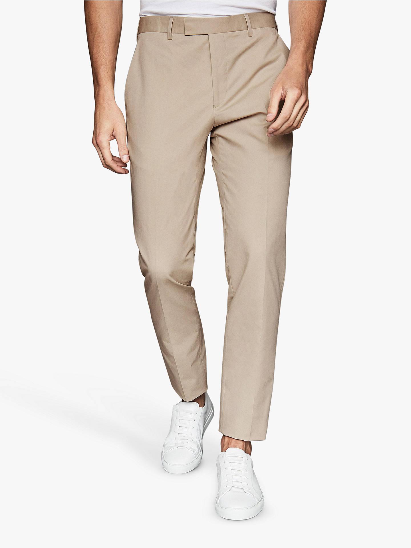 2584f5e6c Buy Reiss Scholar Regular Fit Suit Trousers, Stone, 32R Online at  johnlewis.com ...