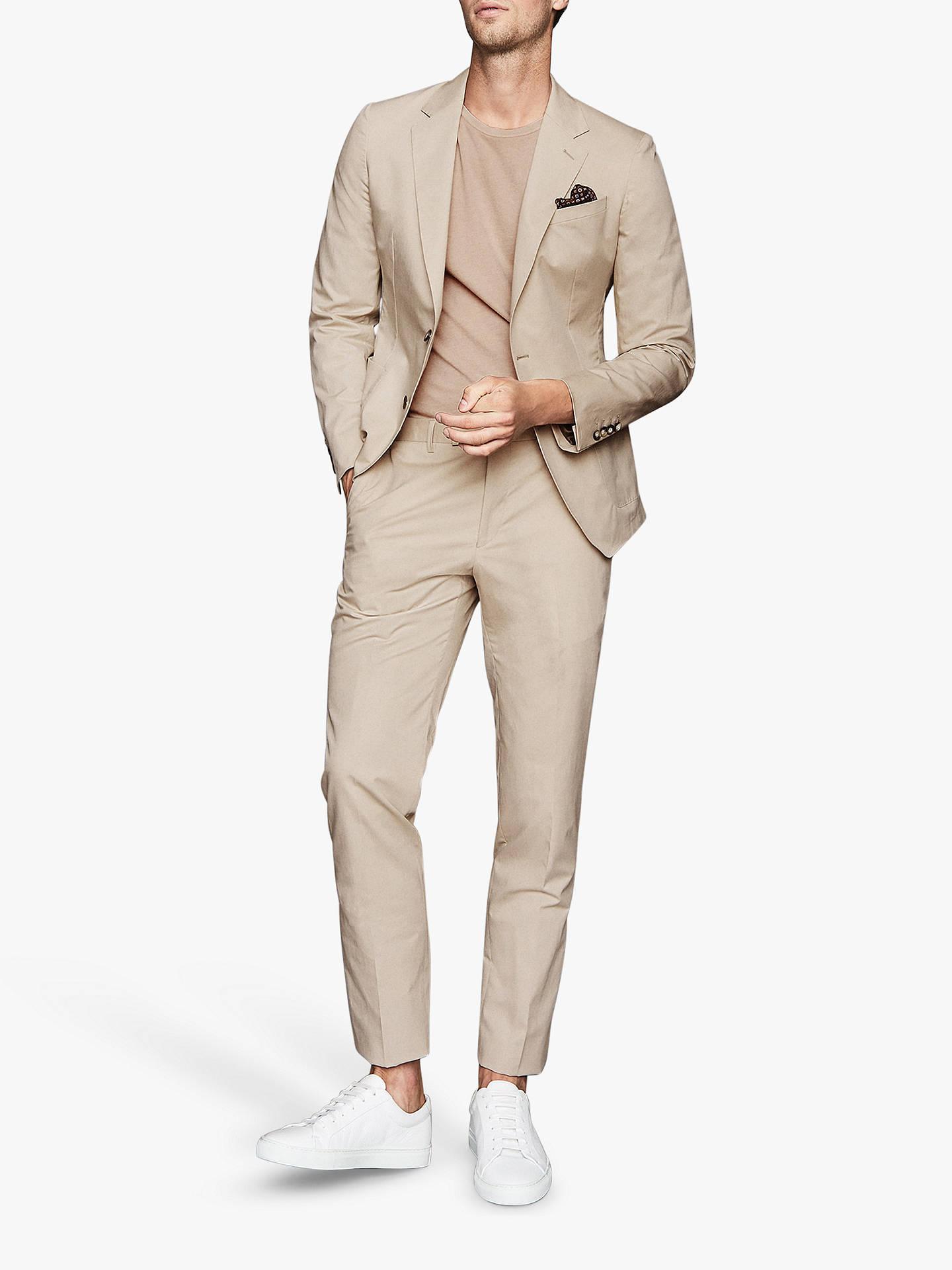 classic fit best authentic best authentic Reiss Scholar Tailored Fit Suit Jacket, Stone at John Lewis ...