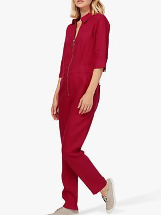 9a1822ae30fe Brora Pure Linen Jumpsuit