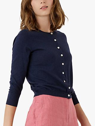 24be03016bbdce Brora Cotton Knit Cardigan
