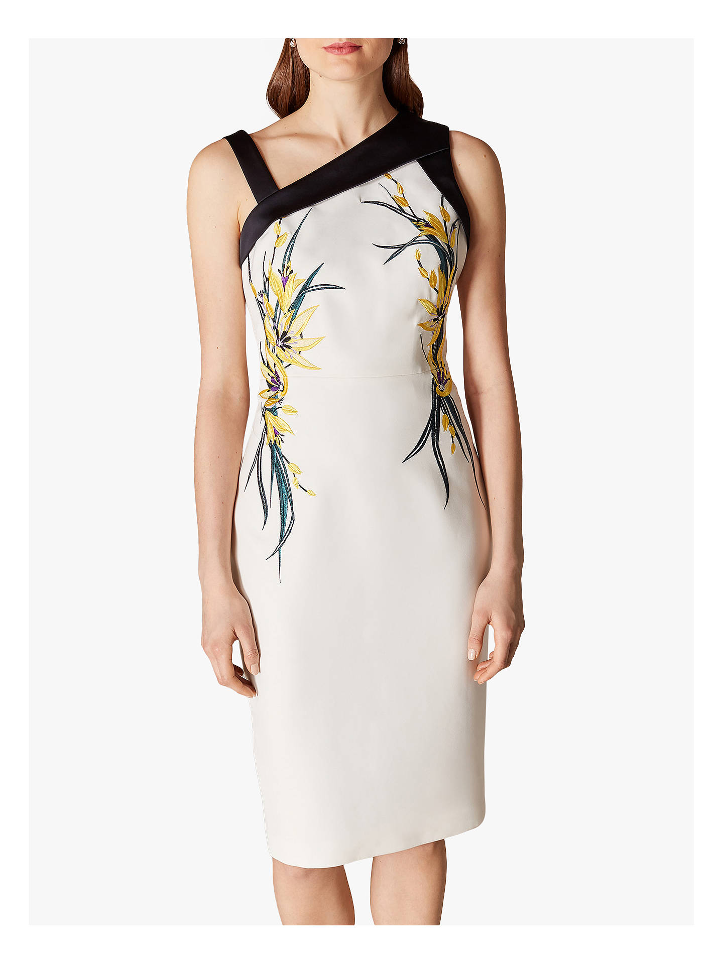Karen millen floral bodycon dress