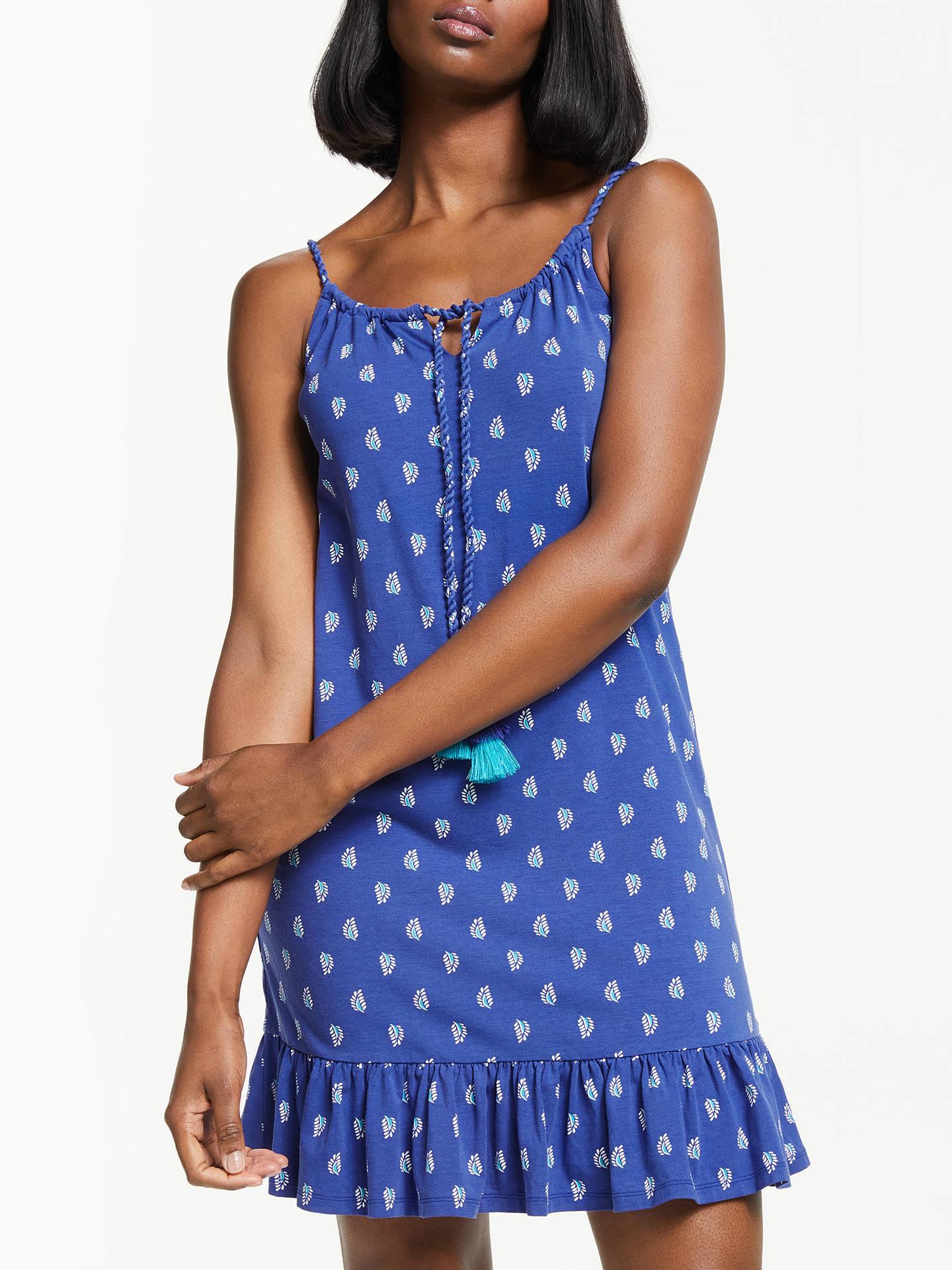 dc39802ae96 Buy Boden Sophia Jersey Dress, Lapis Blue Stamp, 12 Online at johnlewis.com  ...