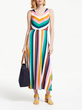 Boden Octavia Jersey Midi Dress, Multi