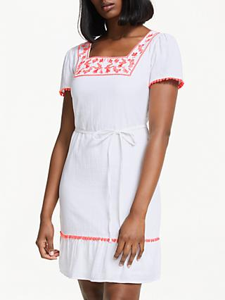 Boden Bernadette Embroidered Dress
