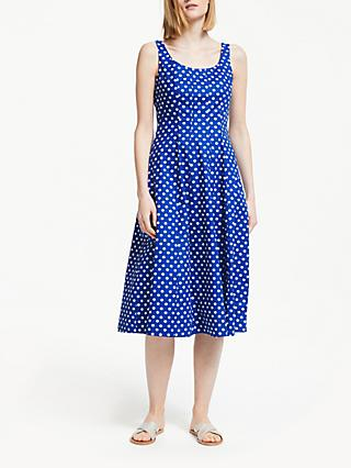 Boden Sabina Spot Star Midi Dress