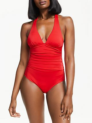 Boden Calasetta Swimsuit, Hot Pepper