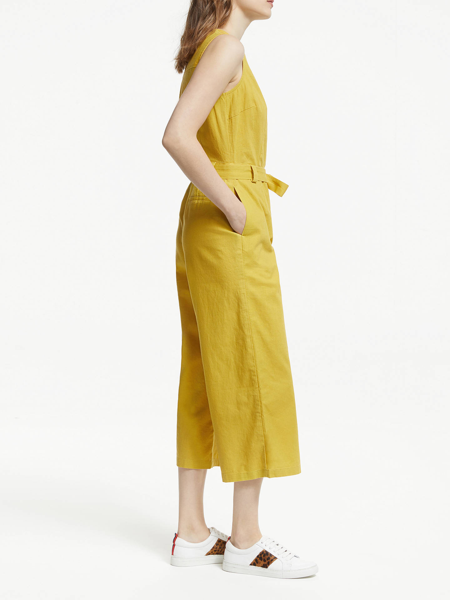 Buy Boden Verity Jumpsuit, Dijon, 10 Online at johnlewis.com