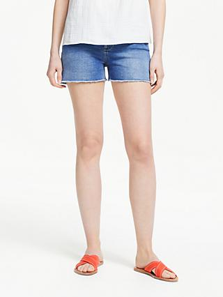 Boden Salcombe Denim Shorts, Mid Vintage