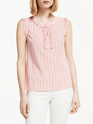 Boden Peggy Top, Chalky Pink