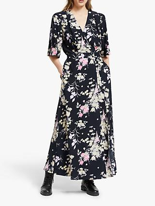 Somerset by Alice Temperley Garden Floral Wrap Dress, Multi