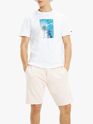 Tommy Jeans Photo Print T-Shirt, Classic White