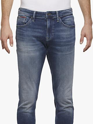 ffe24eab60614 Tommy Jeans Slim Tapered Steve Jeans, Furia Dark Blue
