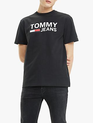Tommy Jeans Classic Logo T-Shirt, Tommy Black