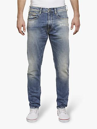 c97940421 Tommy Jeans Modern Tapered Fit Jeans, Salle Mid Blue