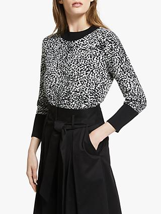 Somerset by Alice Temperley Leopard Print Jumper, Shell