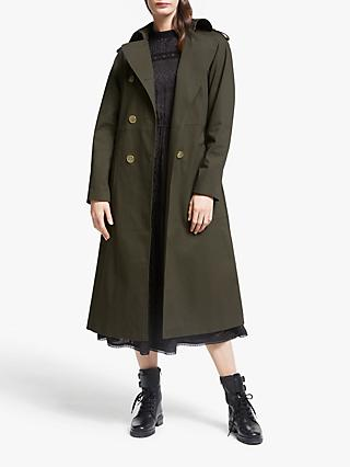 Somerset by Alice Temperley Trench Coat, Khaki