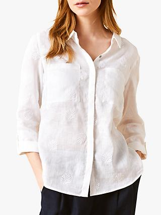 White Stuff Roller Linen Shirt