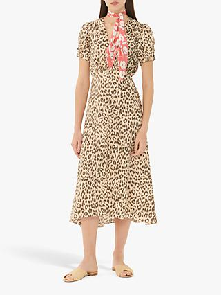 Gerard Darel Gabriella Leopard Print Dress, Multi