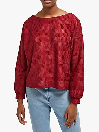 26b35493e4c2b5 French Connection Tiarella Texture Jersey Top