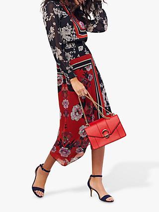 e5cb8521121 Oasis Scarf Print Midi Dress