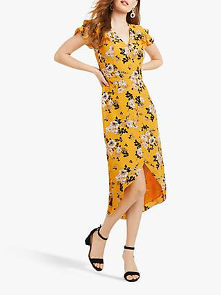 759a93c745b7 Oasis Floral Button Dress