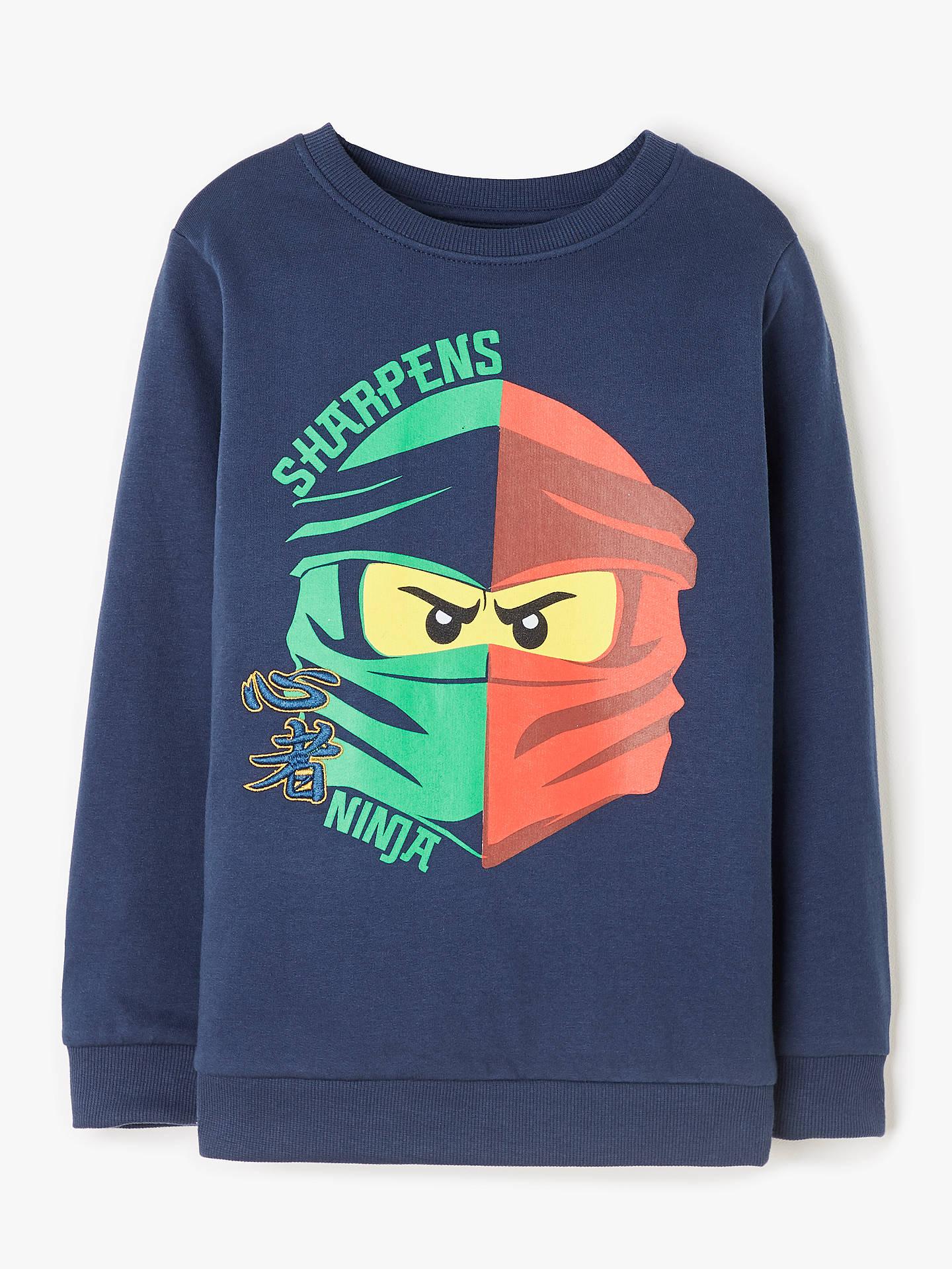 Ninjago Girls Boys Kids Hooded Tops Cartoon T-shirt Hoodie Jumper Age 2-10Years
