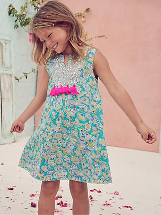 a8b0c110b9d Mini Boden Girls  Sequin Detail Dress
