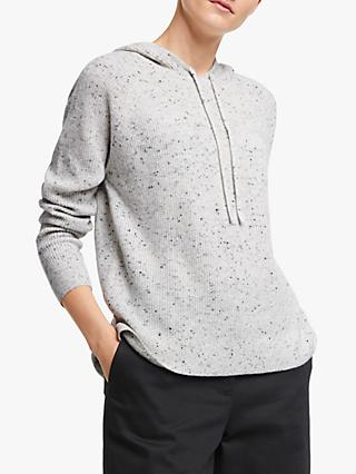 John Lewis & Partners Cashmere Hooded Sweater