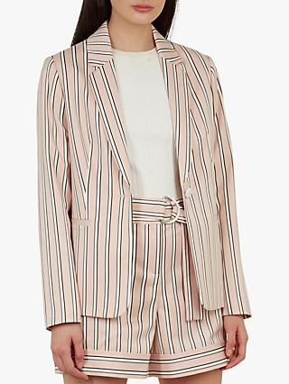 c687f83ced73 Ted Baker Betiia Striped Tailored Jacket