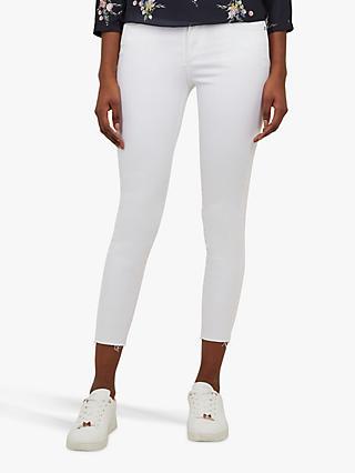 e1cd11005 Ted Baker Catarsi Frayed Hem Skinny Jeans