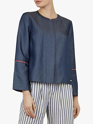 3dfb5c8e60ddc Ted Baker Colour By Numbers Bazia Cotton Shirt