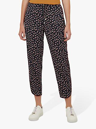 Ted Baker Colour By Numbers Yolandi Spot Print Joggers, Navy