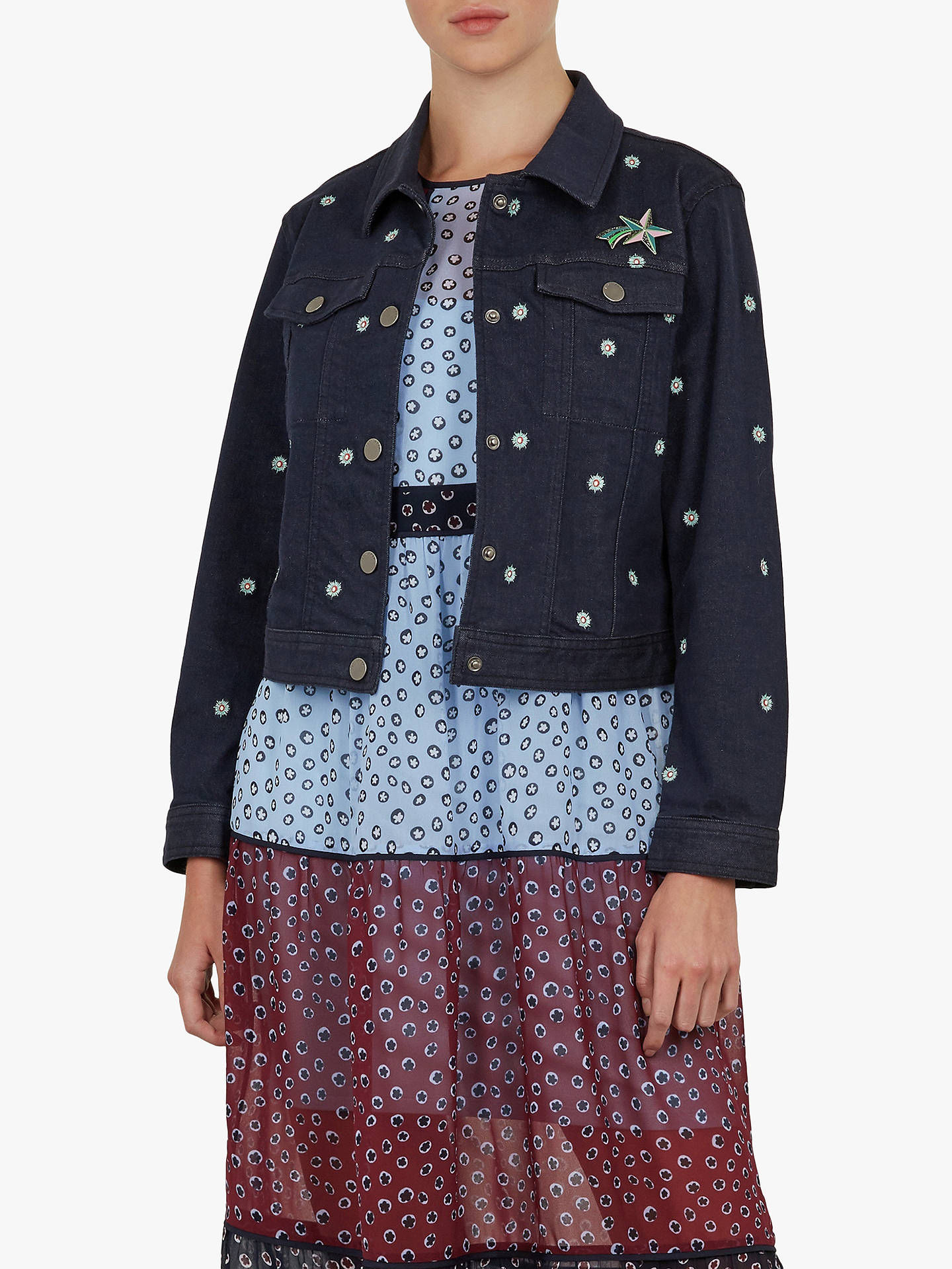 women's Ted Baker denim jacket in