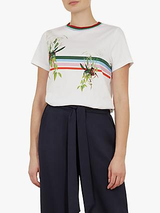 37326fb68 Ted Baker Kathlin Printed T-Shirt