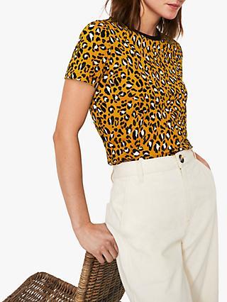 9d95d294d76 Warehouse Leopard Print T-Shirt