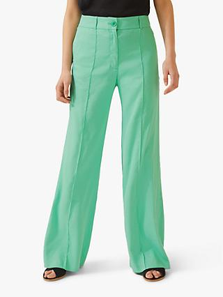 7d0186eada7 Jigsaw Pin Stitch Portofino Trousers