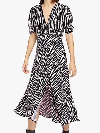 Ghost Flo Tiger Print Dress, Multi