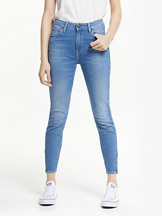 Lee Scarlett High Waist Skinny Jeans, Jaded