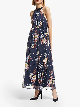 Y.A.S Solira Chiffon Maxi Dress, Multi