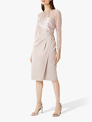 Coast Lucy Lace Shift Dress, Oyster