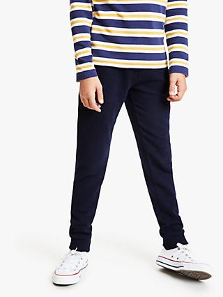 John Lewis & Partners Boys' Essential Joggers, Navy