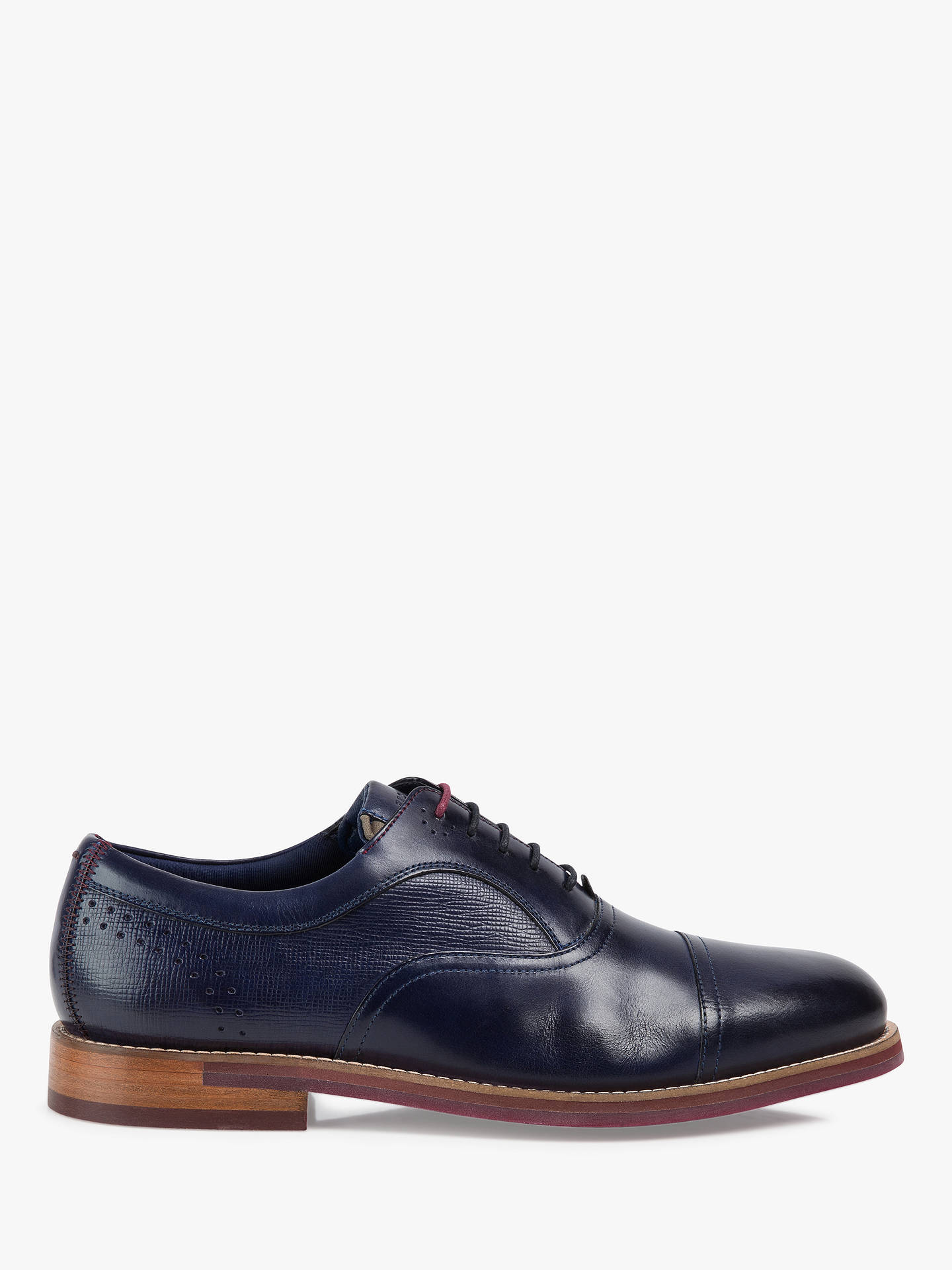 07797e0cc Ted Baker Quidion Leather Brogues at John Lewis   Partners