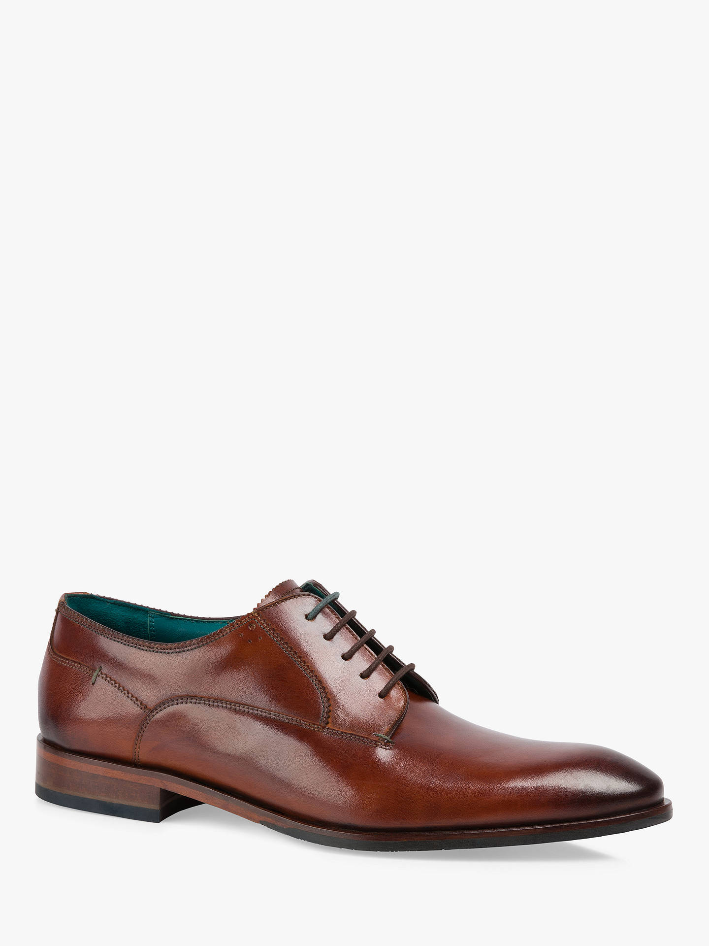 9879e26e0725 Ted Baker Parals Leather Derby Shoes at John Lewis   Partners